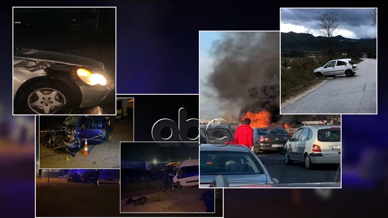 Përplasje, tym e flakë! Aksidentet morën më shumë jetë sesa COVID-19 sot në Shqipëri