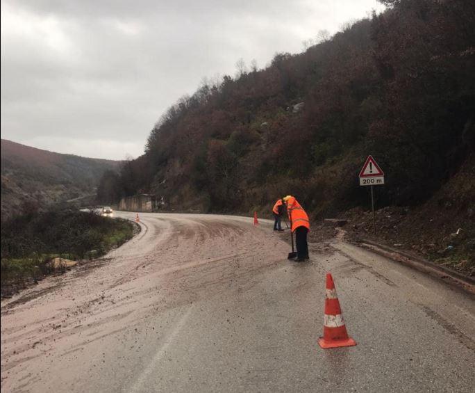 Reshjet e dendura të shiut dhe borës, ARRSH: Segmentet rrugore të kalueshme
