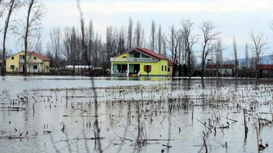Situata e përmbytjeve në Shkodër, kuotat e lumenjve dhe liqenit drejt normalizimit
