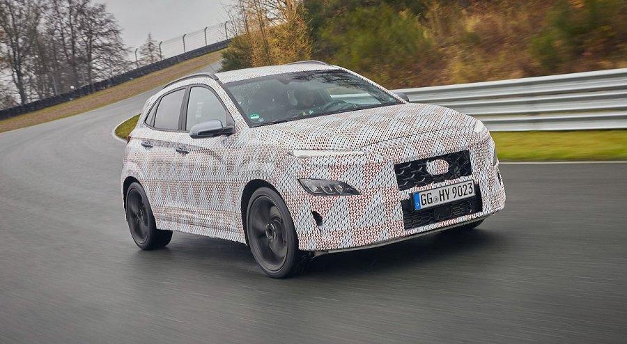 Me 275 kuaj fuqi, Hyundai prezanton crossoverin Kona N