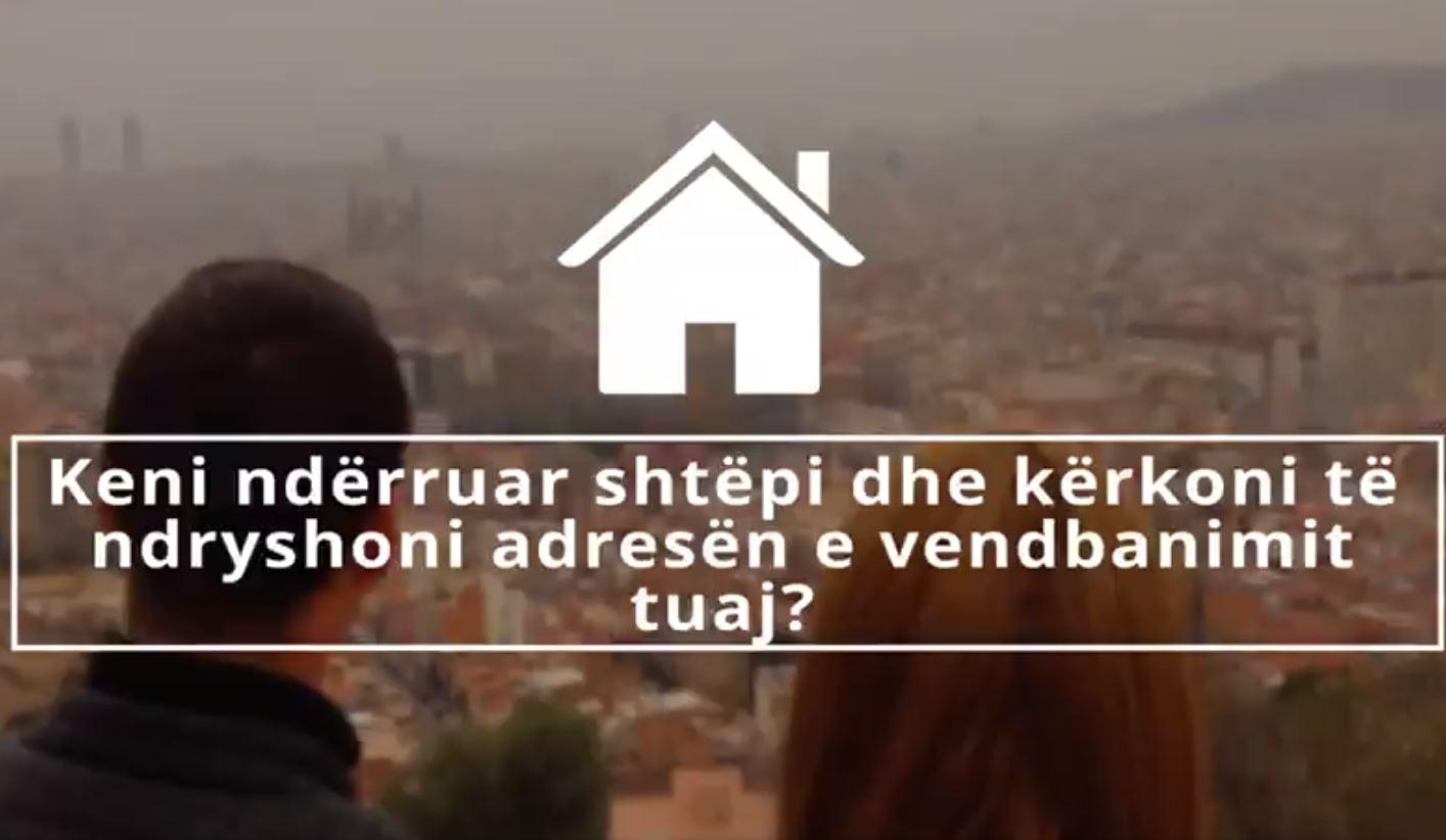 Keni ndryshuar shtëpi? Rama: S'ka nevojë të shkoni të gjendja civile, mjafto vetëm një klik në e-Albania
