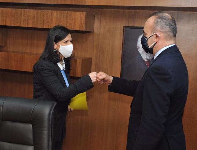 Gjonaj takim me kreun e OSBE: Bashkëpunim ndërmjet dy institucioneve