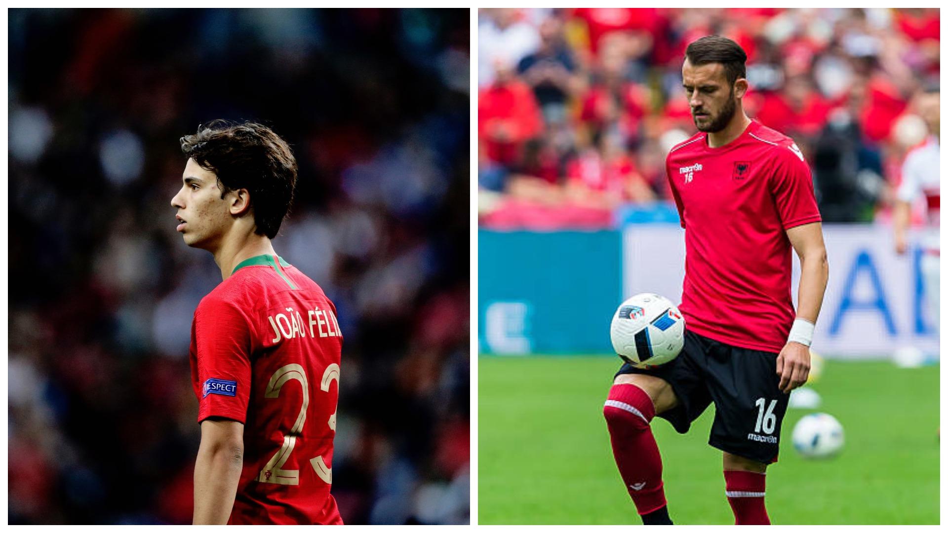 """VIDEO/ """"Zgjidhni më të bukurin"""", UEFA vë përballë Cikalleshin dhe Felix"""