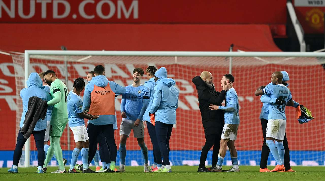 VIDEO/ Derbi i Manchesterit vishet i kaltër, City eliminon United