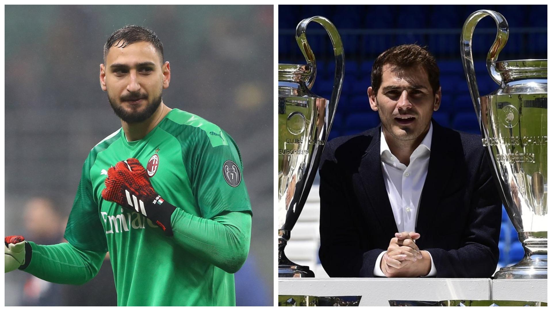Casillas: Donnarumma të zgjedhë një klub më me traditë. Gabim! Milani ka traditë