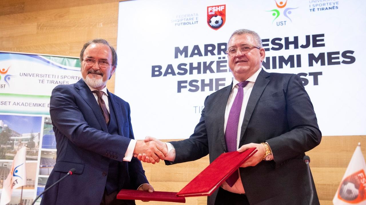 E konsiderojnë historike, FSHF marrëveshje me Universitetin e Sporteve