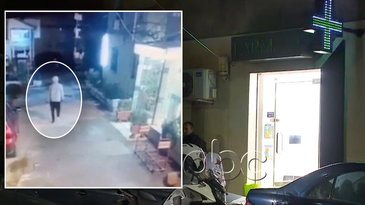 Grabiti me pistoletë lodër farmacinë në Tiranë, momenti kur autori largohet nga vendngjarja