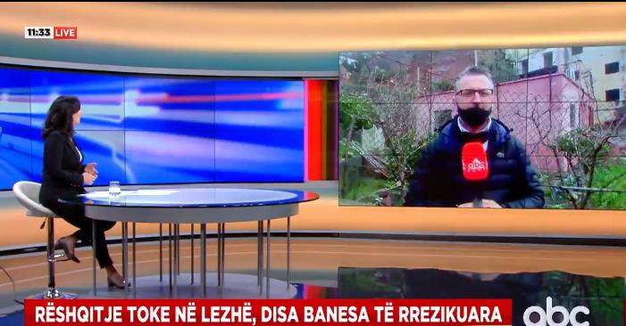 Rrëshqitja e dheut pas reshjeve, 12 familje të evakuuara në bashkinë Lezhë