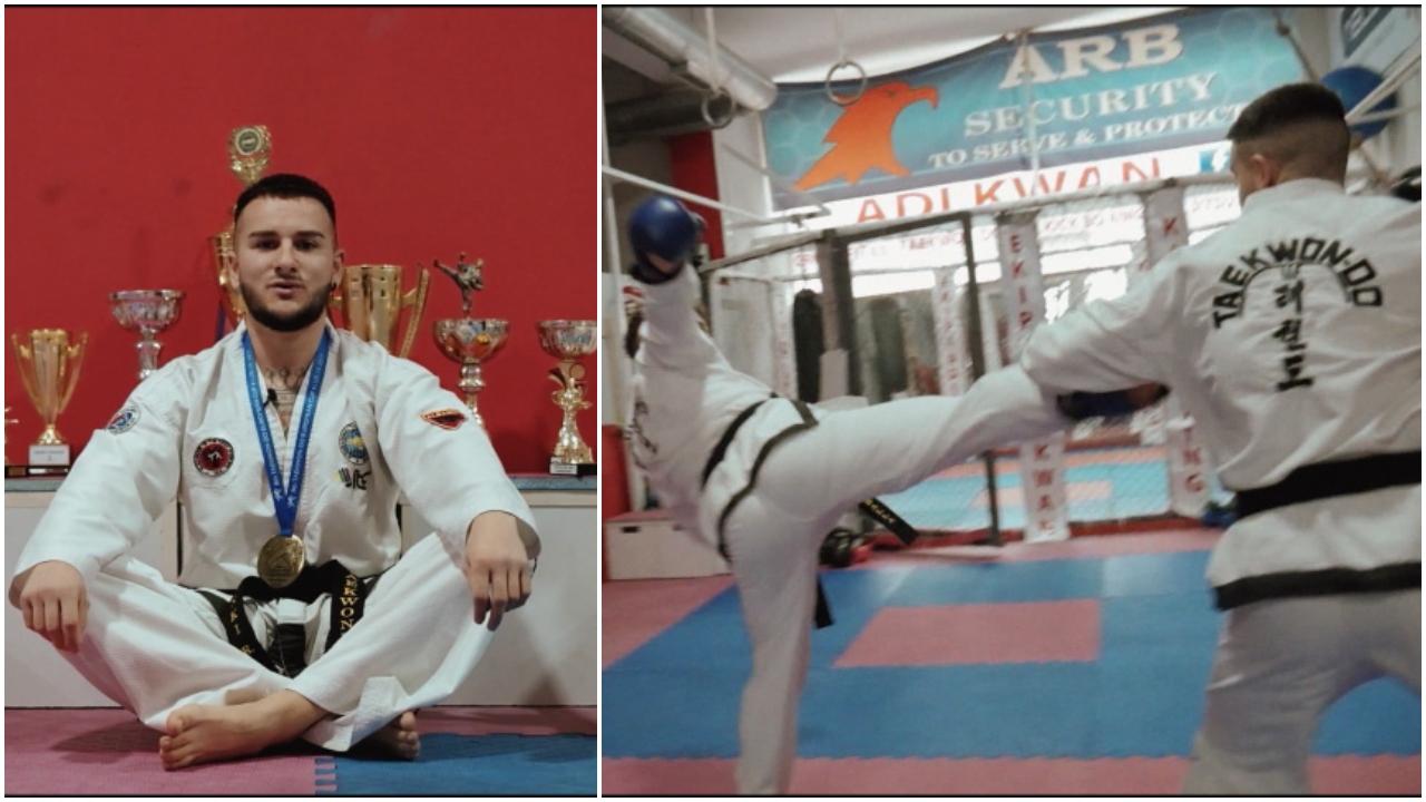 Kampioni i pamposhtur i taekwondos, Frenki Rukaj: Pasionin e ktheva në profesion