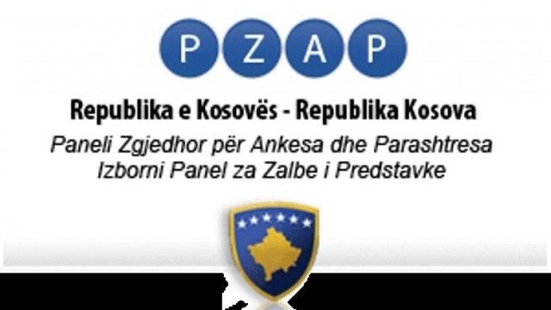Moscertefikimi i listave, PZAP vendos sot për ankesat e Vetëvendosjes, AAK e parti të tjera