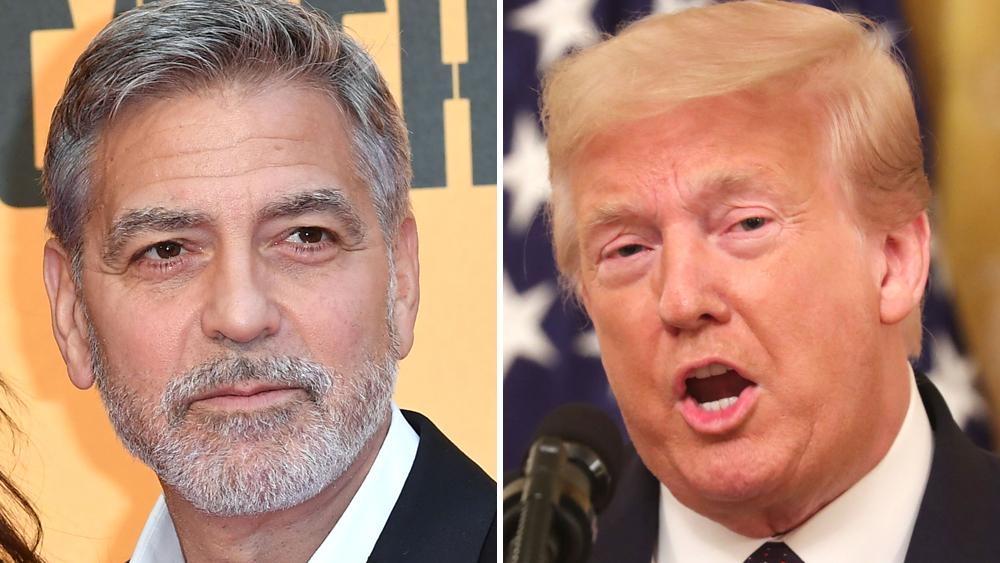 """George Clooney: Familja Trump do të përfundojë në """"koshin e plehrave të historisë"""""""