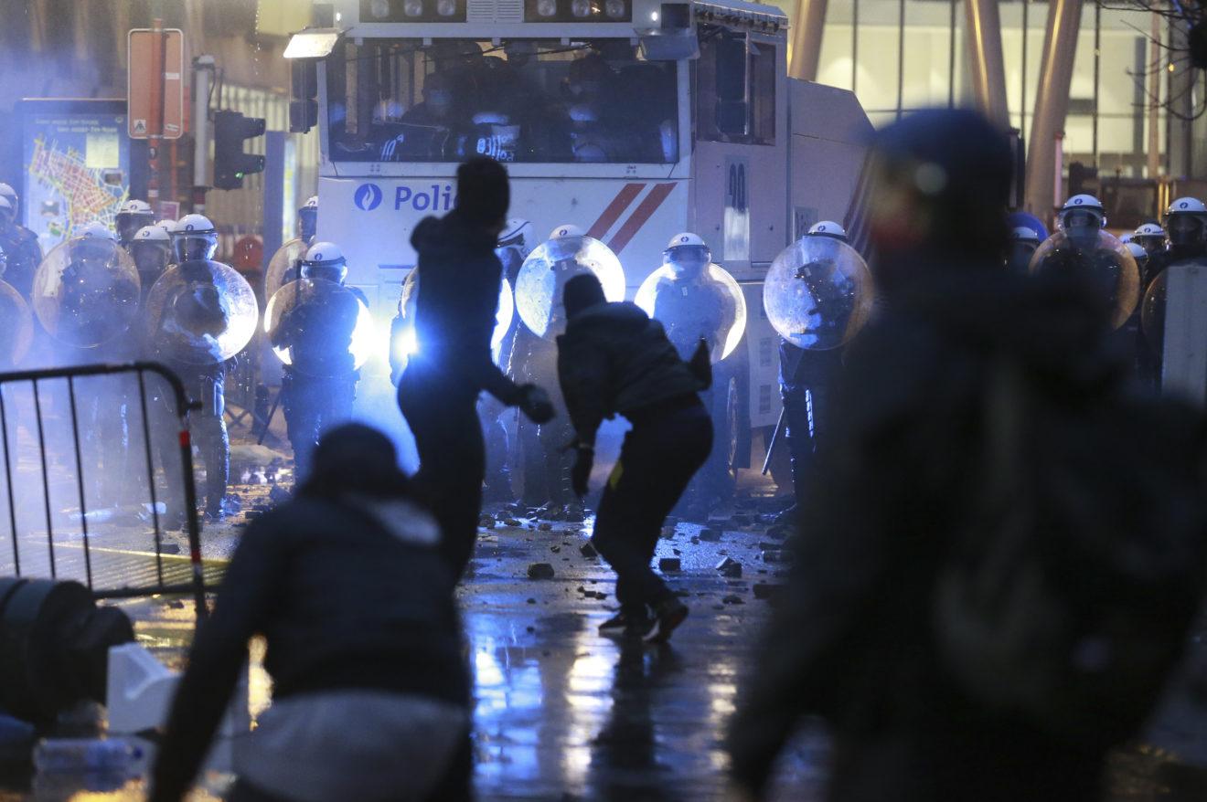 Vrasja e të riut nga policia, shpërthejnë protestat në Bruksel