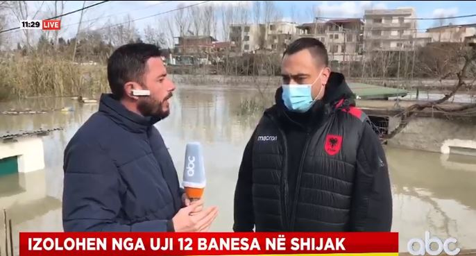 19 banesa të rrezikuara në Shijak, kryebashkiaku: Kemi marr masat, janë evakuuar disa banorë
