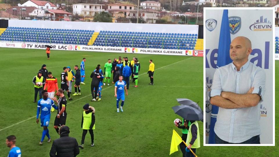 Akuza për goditje të arbitrit, reagon Naim Halili: E pavërtetë, po festoja me ekipin