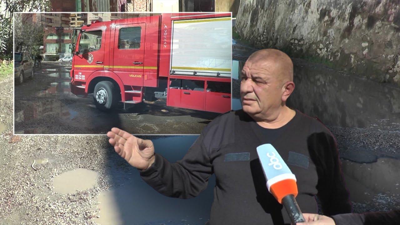 Forcat zjarrfikëse në Vlorë, në vështirësi prej rrugës së amortizuar: Na shkakton vonesë për emergjenca