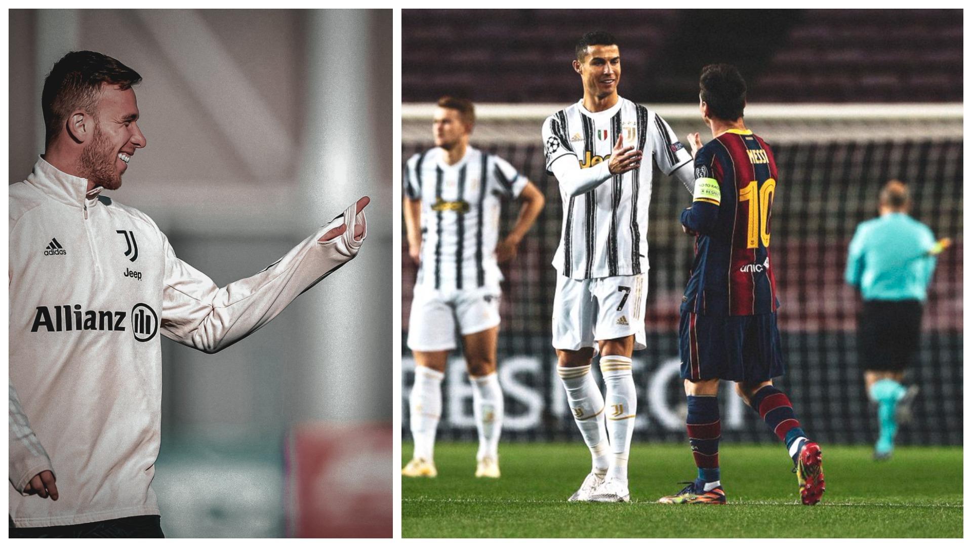 """""""Si kapiten zgjedh Ronaldon"""", Arthur: CR7 flet më shumë, Messi lider me gjeste"""