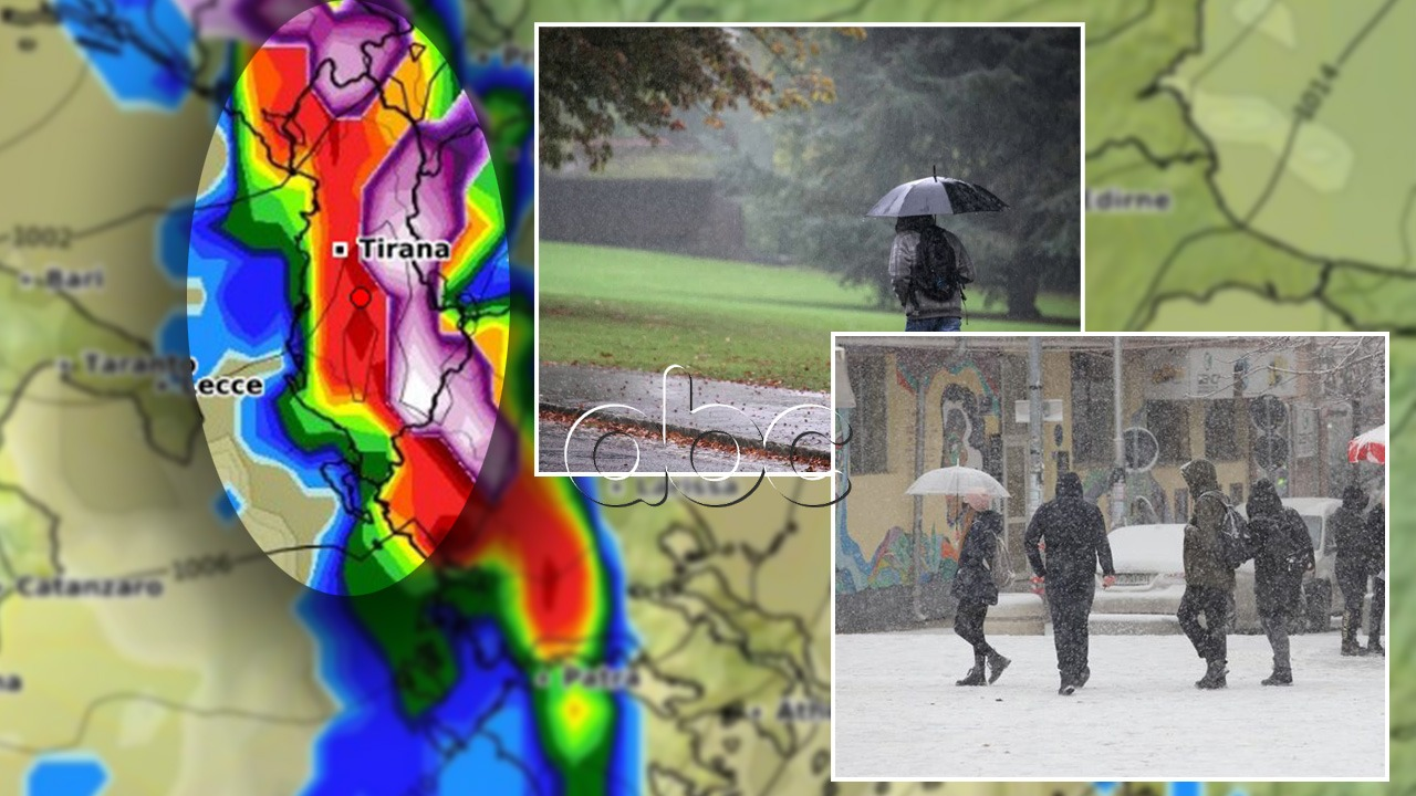 Mbrëmja sjell rreziqe të mëdha, zonat ku pritet intensifikim i reshjeve