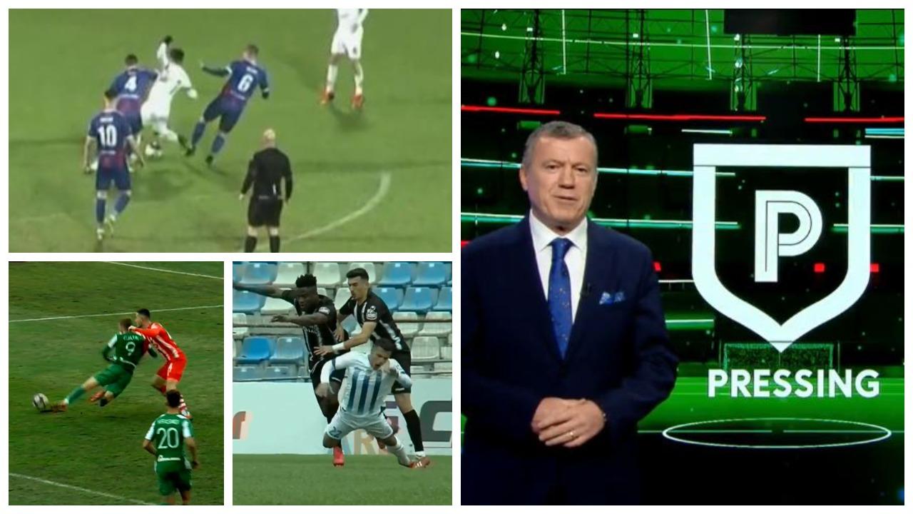 """VIDEO/ """"Rrëmuja"""" në Shkodër dhe dy penallti në skaner, moviola e Pregjës në Pressing"""