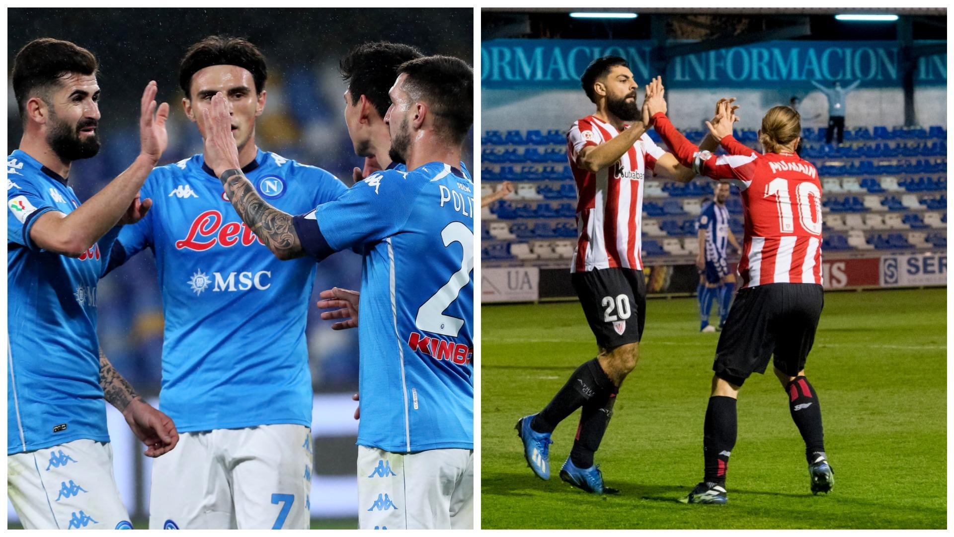 VIDEO/ Goleada nga Spanja në Itali, Napoli e Athletic Bilbao bëjnë detyrën