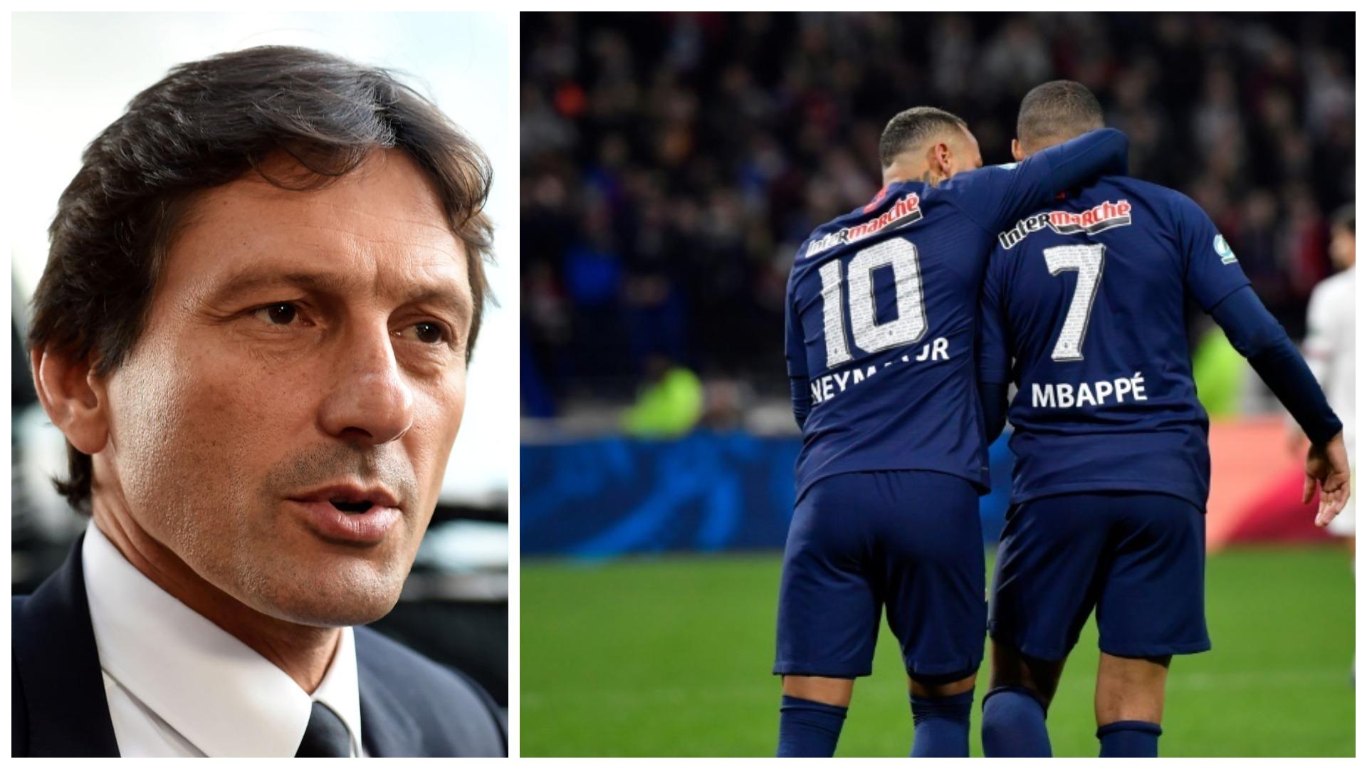 Rinovimi me dyshen Mbappe-Neymar, Leonardo: Koha për të vendosur