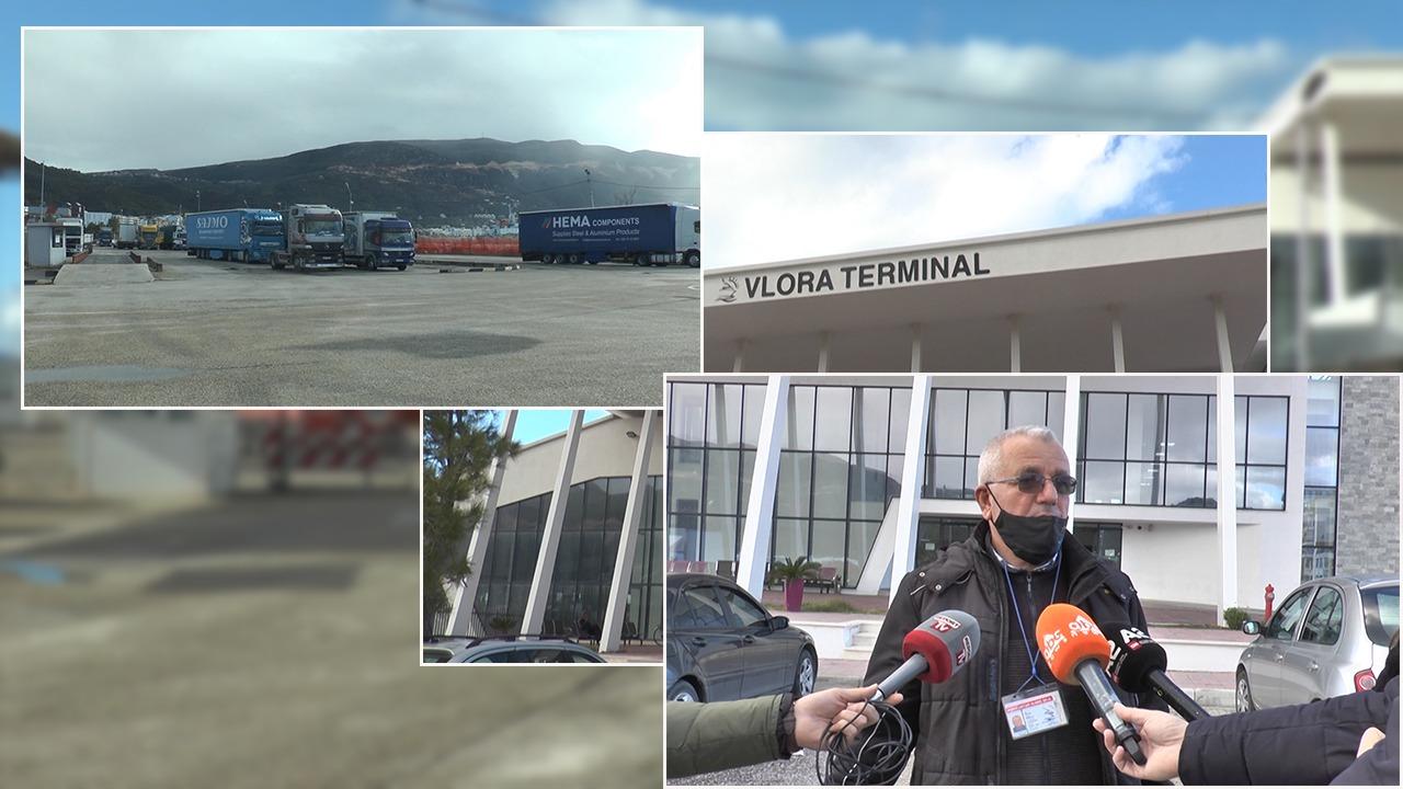 Porti i Vlorës 50 % më pak të ardhura se në 2019