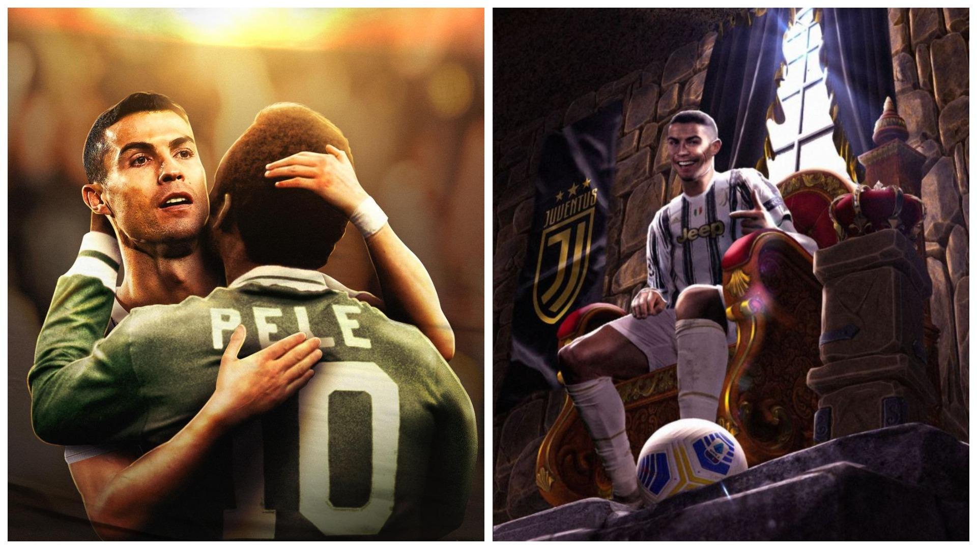 Ronaldo i theu rekordin, Pele: Unë ende i pari, kam shënuar 1283 gola