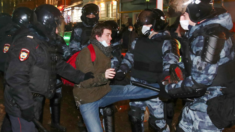 Fytyra e re e protestave në Rusi