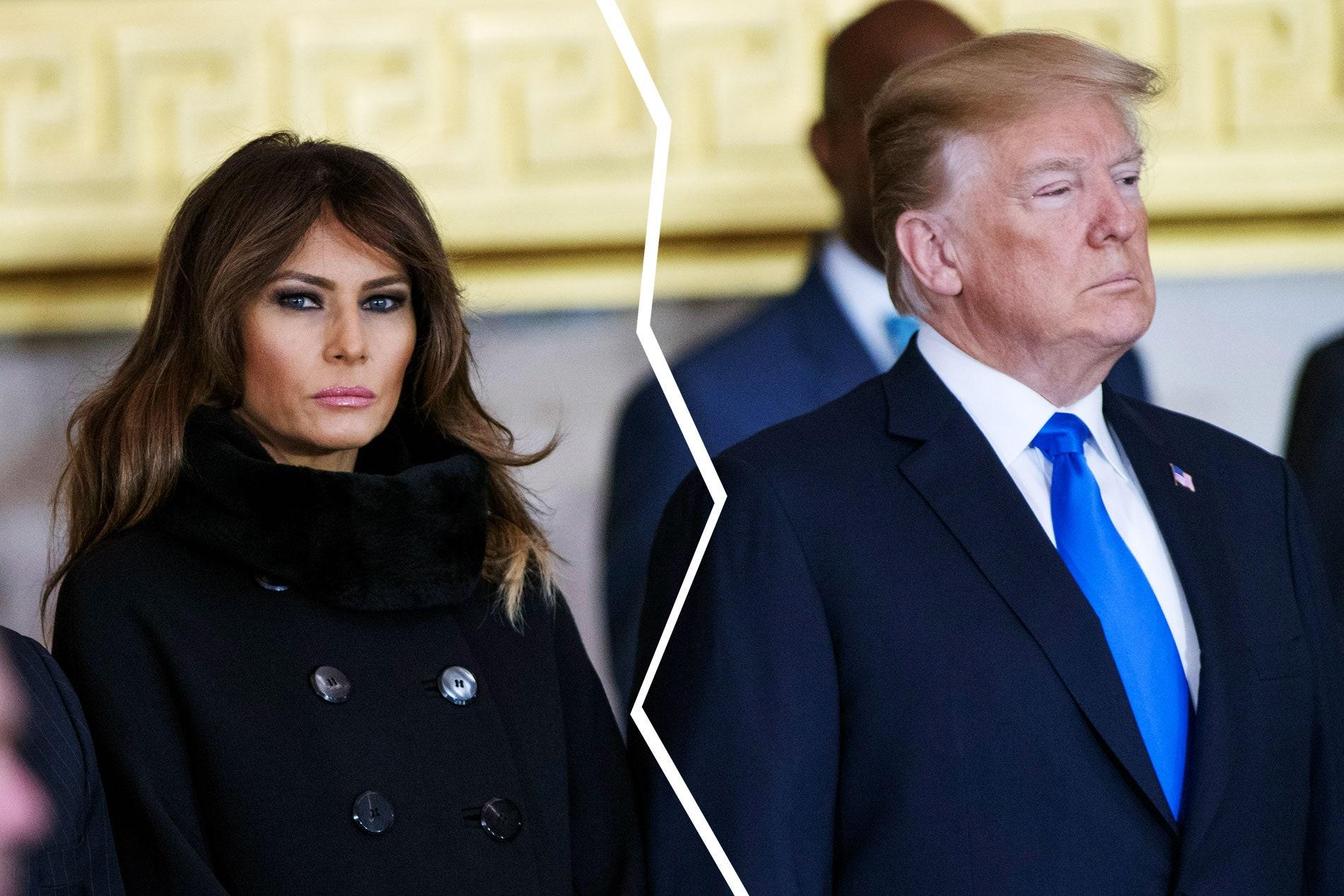 Donald Trump dhe Melania drejt divorcit? Zbulohet e vërteta