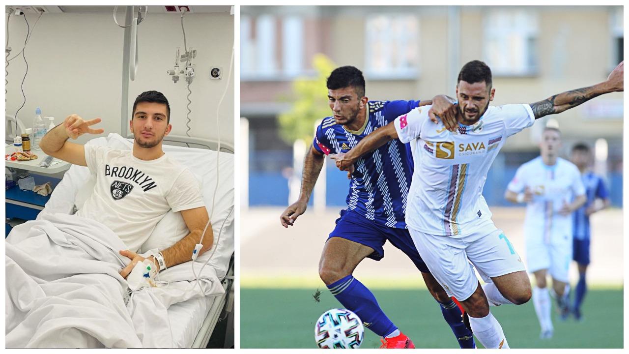 Mbylli sezonin prej dëmtimit, operohet sulmuesi i Shqipërisë U21