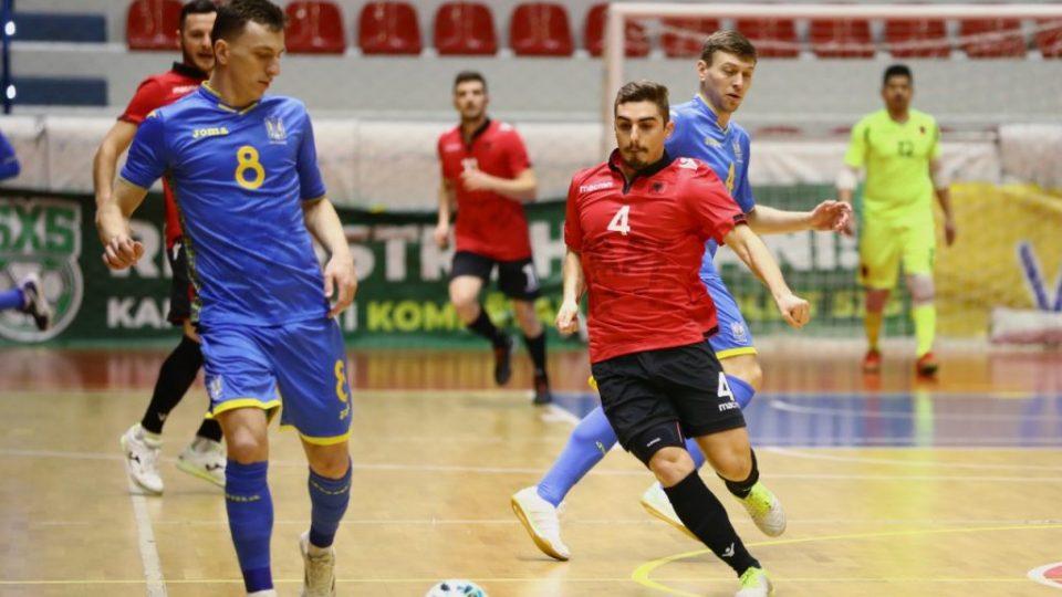 Futsall/ Ukraina e pamëshirshme, shpartallon me 10 gola Shqipërinë