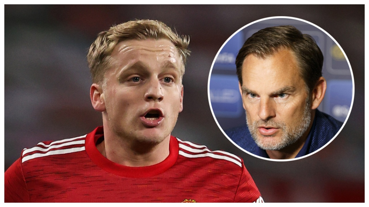 Situata e Van De Beek tek United, trajneri i Holandës e këshillon të largohet