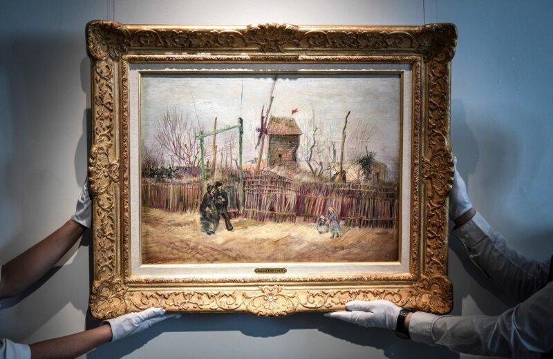 Nuk ishte shfaqur kurrë, bëhet publike për herë të parë piktura e Parisit nga Vincent van Gogh