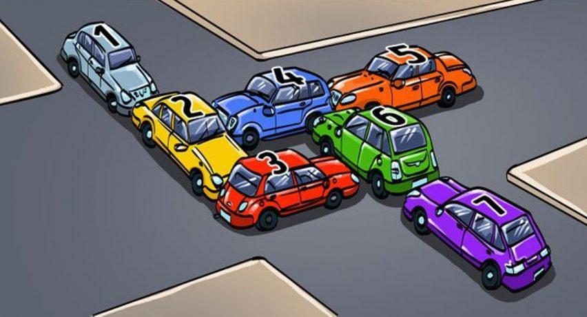 A e dini se cila nga makinat po bllokon trafikun?