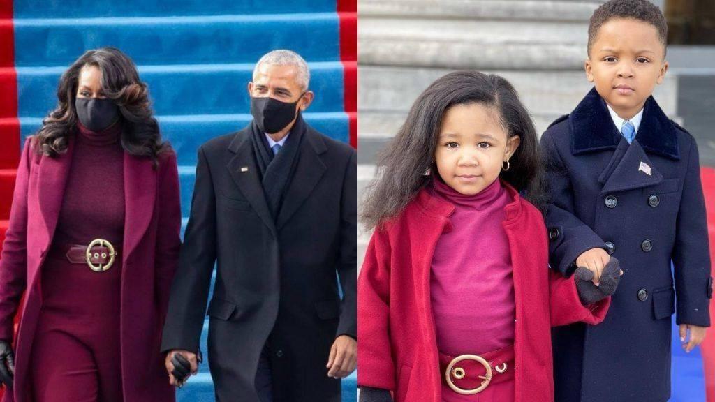 Rikrijuan fotografitë e çiftit Obama, dy vogëlushët kthehen menjëherë në yjet e internetit