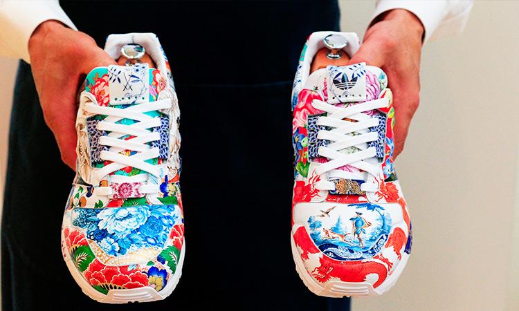Atletet prej porcelani nga Adidas dalin në ankand për 1 milion dollarë