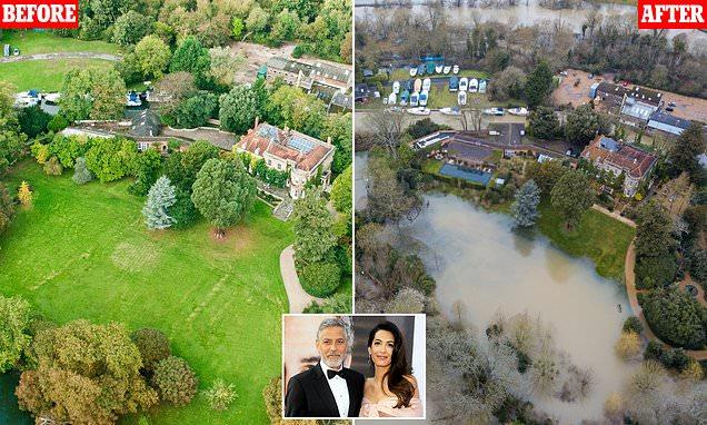 """Rezidenca e George dhe Amal Clooney kthehet në një """"ishull"""""""