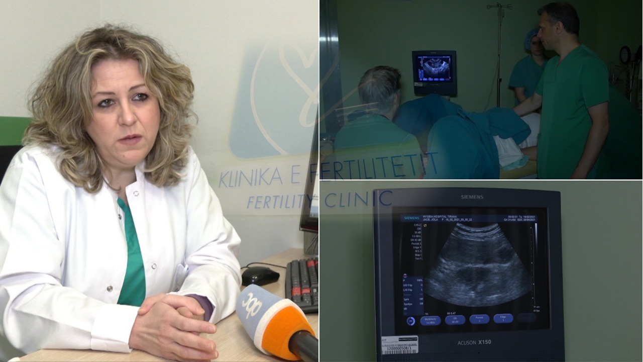 In vitro tek Hygeia, mjekja: Terapi specifike për çdo paciente, në janar 74% të suksesshme