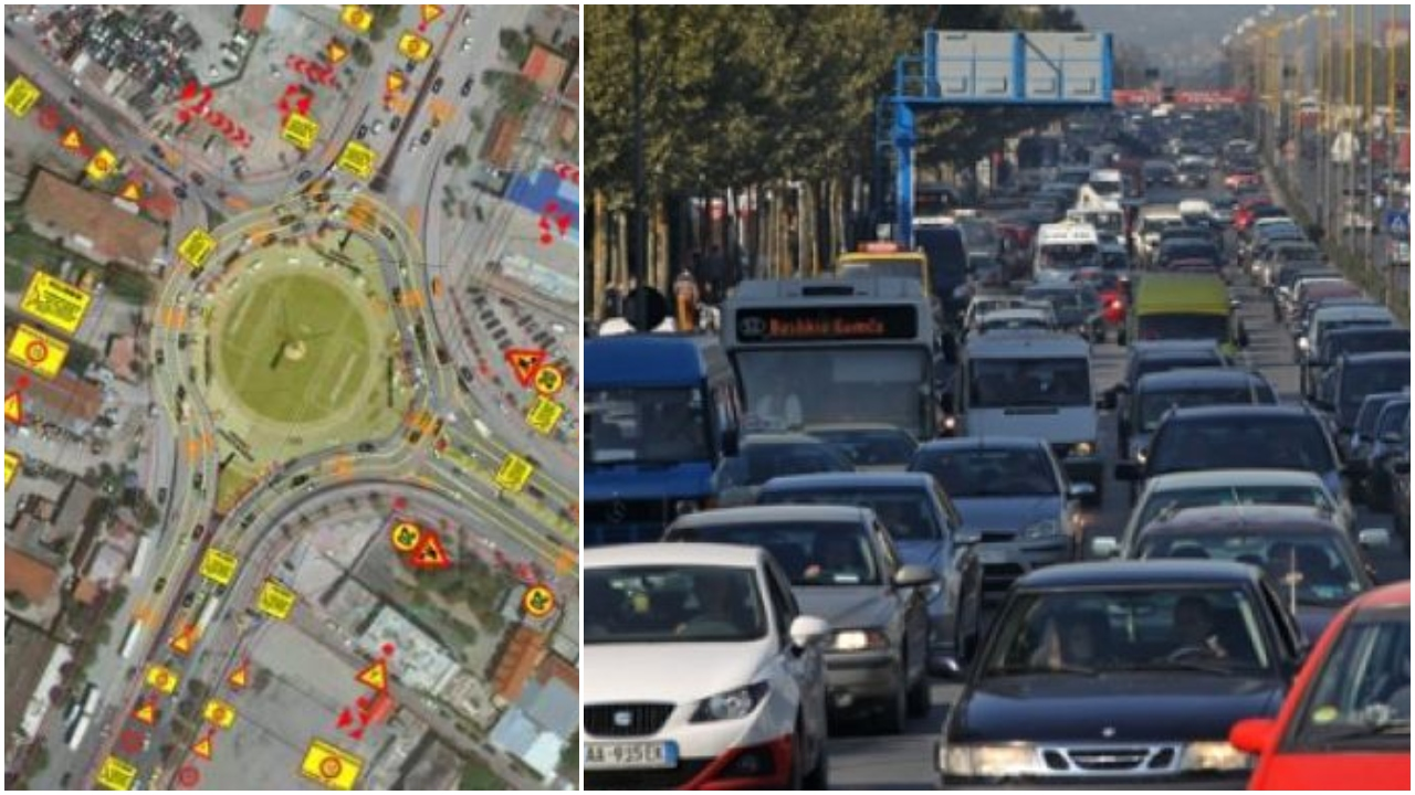 Trafiku i rënduar në Tiranë, policia rekomandon rrugët alternative për fundjavën