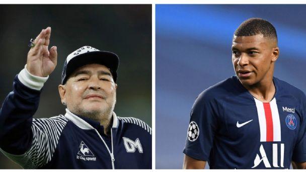 """VIDEO/ """"Kam Ronaldon"""", kur Maradona i thoshte Realit të blinte Mbappe"""
