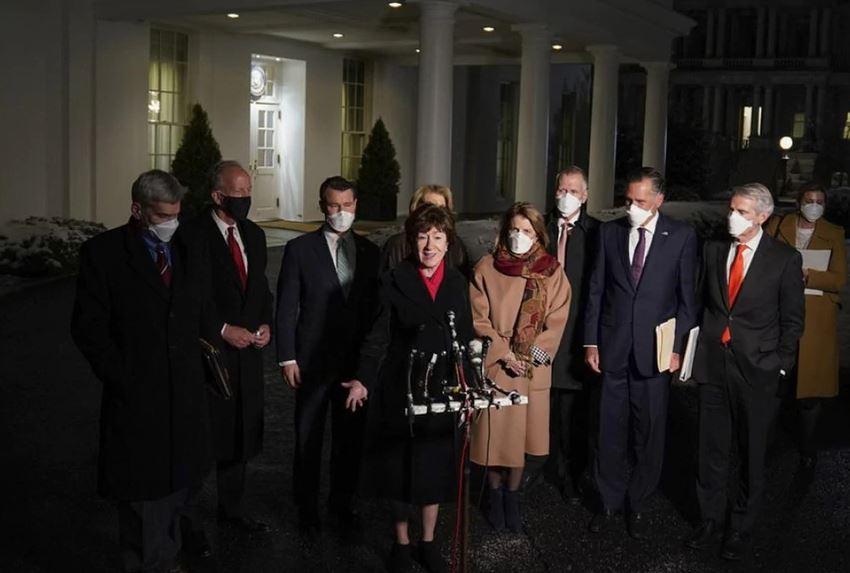 Senatorët republikanë mbledhje me Biden: Takim i jashtëzakonshëm
