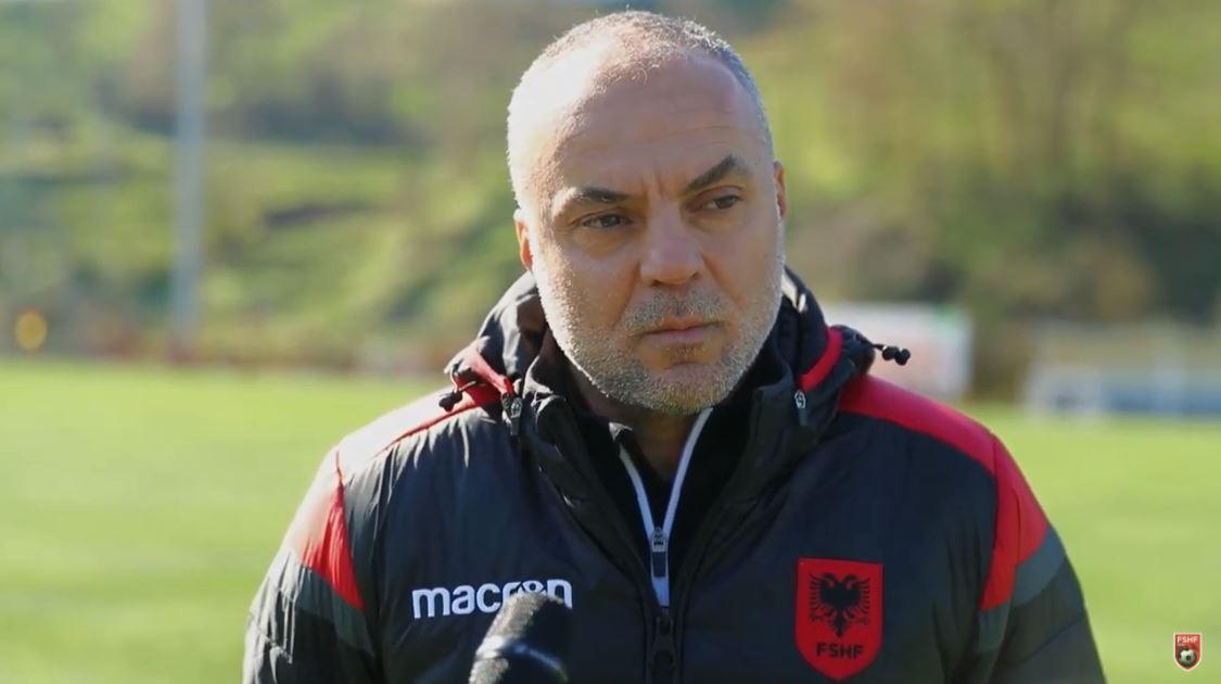 Shqipëria U19 thyhet nga Partizani B, Cungu: Jemi në fazën e vëzhgimit