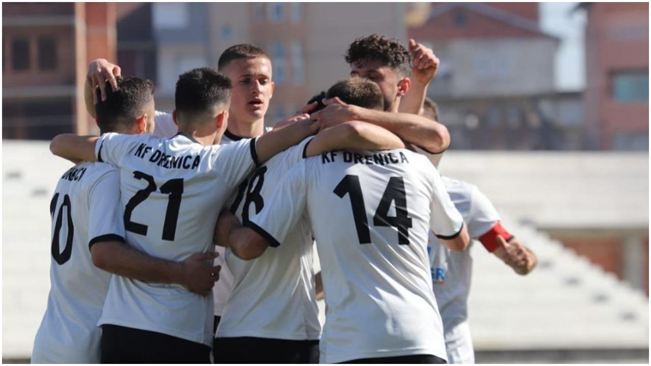 """Superliga e Kosovës: Drenica """"fik"""" Gjilanin, Feronikeli rikthehet te fitorja"""