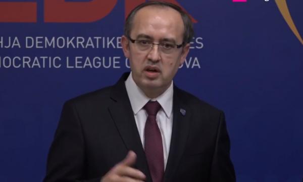 LDK goditje të fortë, Avdullah Hoti: Marr përgjegjësinë e rezultatit