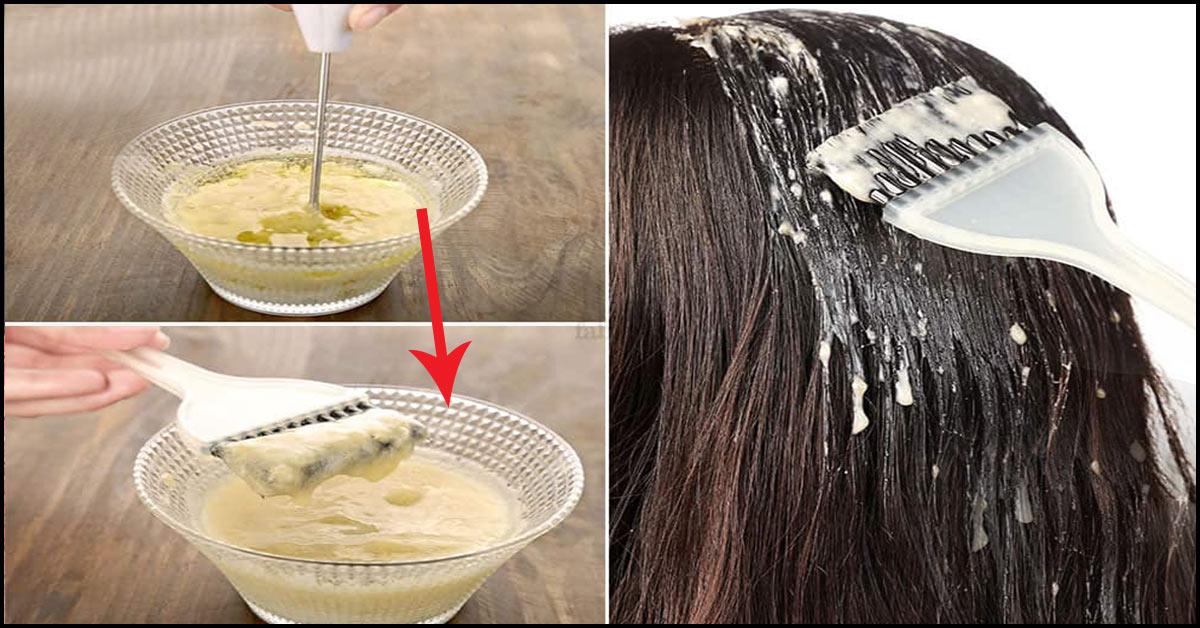 Me vetëm tre produkte, kjo maskë i shërben flokëve të jenë natyral