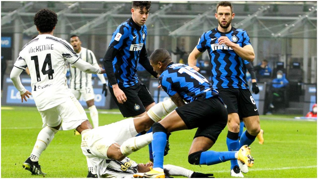 Dy opsione për mesfushën e Juves, një mbrojtës kërkon largimin nga Interi