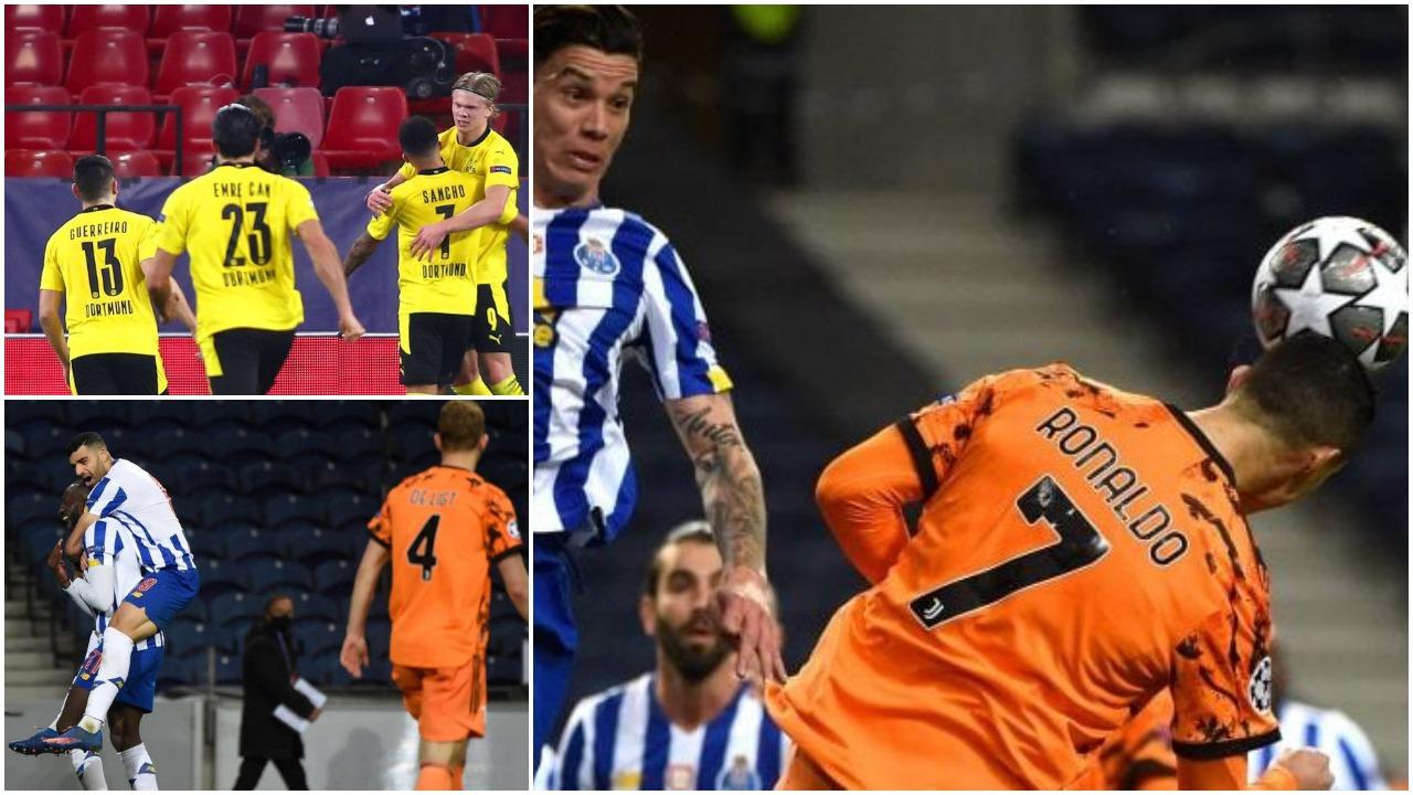 """VIDEO/ Juventusi bie në Portugali, Dortmundi """"fluturon"""" me Haaland"""