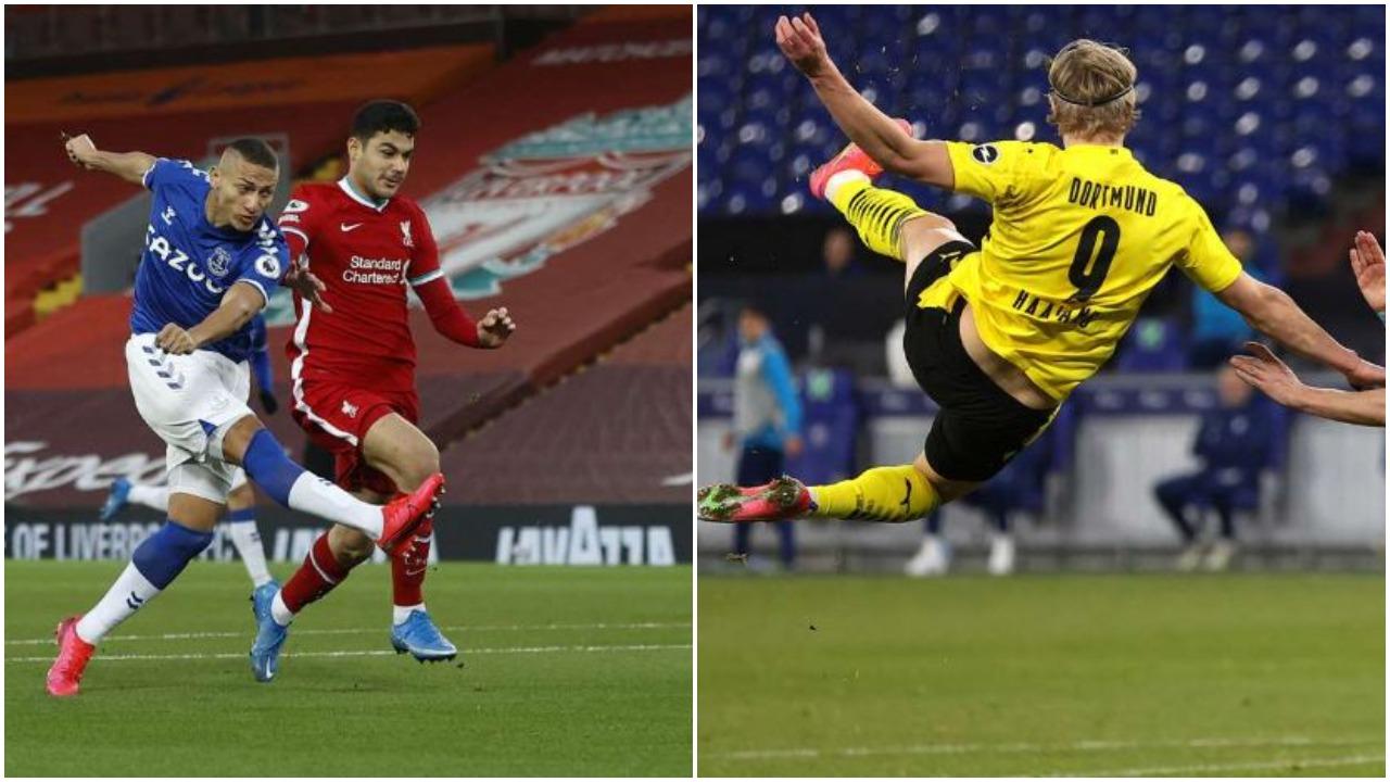 """VIDEO/ Evertoni thyen mallkimin në derbi, Dortmundi fundos """"armiqtë"""" e Schalke 04"""