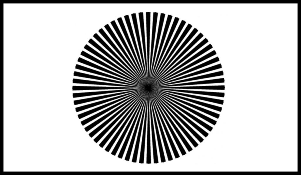 Çfarë ngjyre shihni në qendrën e imazhit?Mësoni llojin e gjeniut që jeni