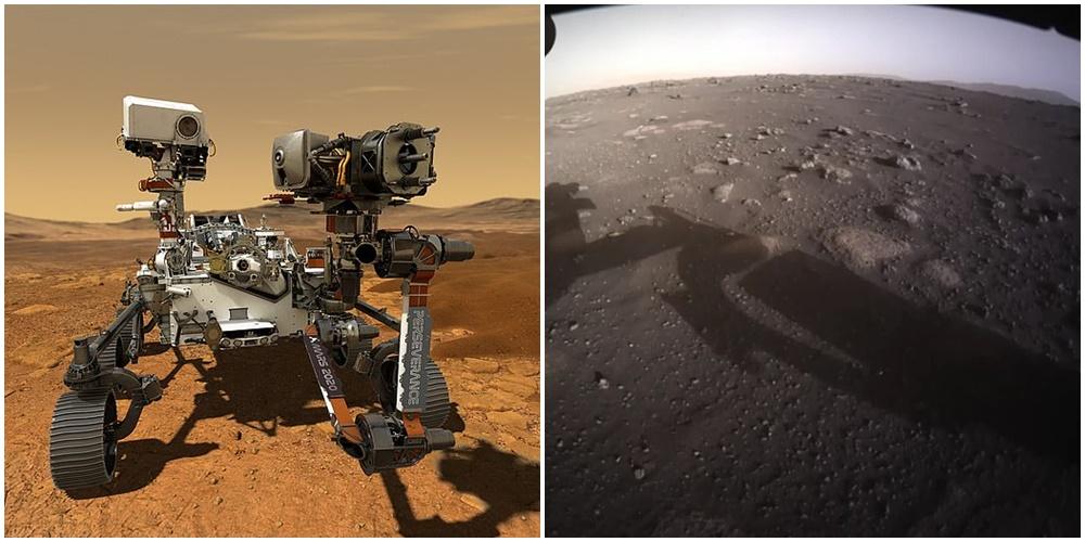 """""""7 minutat e terrorit"""", NASA publikon pamjet e para me ngjyra nga Marsi"""