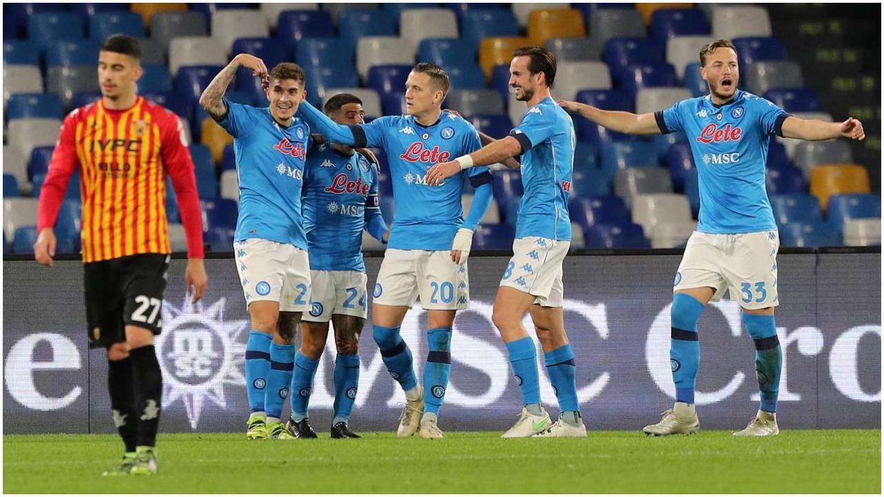 VIDEO/ Napoli bën detyrën: Fitore qetësie për Gattuson, Mertens rigjen golin